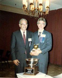 Arthur Rice Jr. and John Rice, 1989