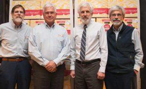 Keith Thomas, John Rice, Ted Rice and David Rice, 2015